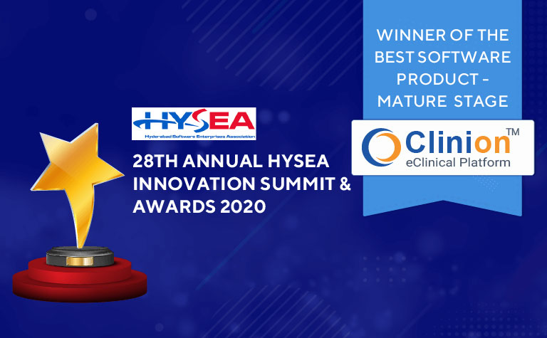Winner of Best Software Product- Mature Stage by Hysea